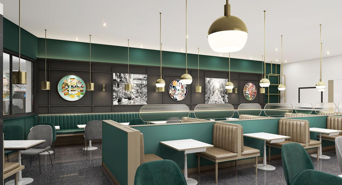 <b>餐饮业要长期生存离不开餐厅设计和装饰</b>